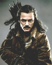 Luke Evans Autograph Signed Photo - Bard
